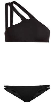 Melissa Odabash St Lucia One Shoulder Bikini - Womens - Black