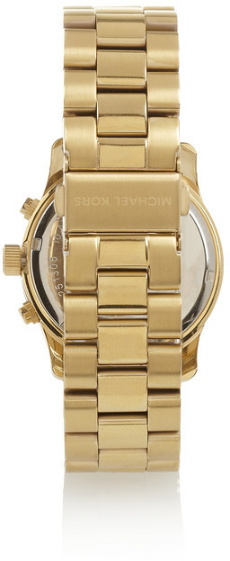 Michael Kors Gold-plated watch