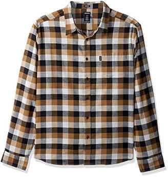 Dickies Men's Long Sleeve Regular fit Flannel Shirt