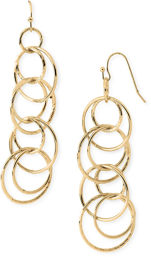 Nordstrom Linear Ring Earrings