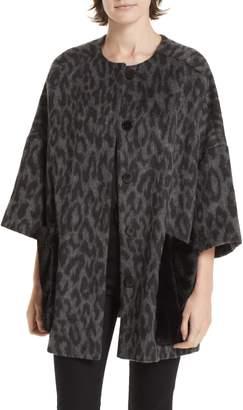 Helene Berman Faux Fur Kimono