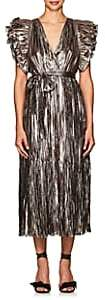 Ulla Johnson WOMEN'S DONNA RUFFLE SILK-BLEND DRESS