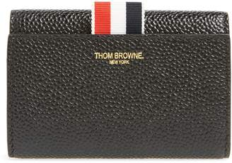Thom Browne Billfold Leather Wallet
