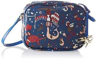 Piero Guidi Women's 210274038 Cross-Body Bag Blue
