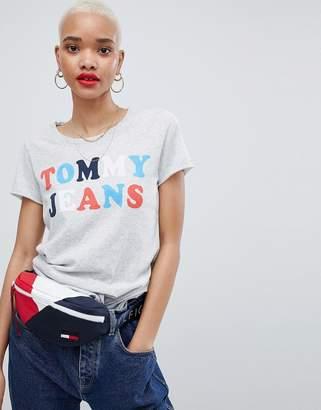 Tommy Jeans Multi Logo T-Shirt