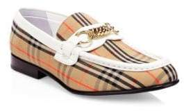 Burberry Moorley Leather Loafers