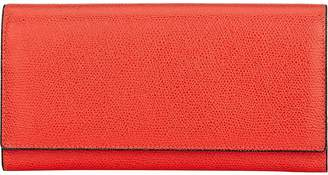 Valextra Women's Large Wallet With Card Case