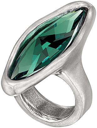 Uno de 50 Unode50 Magia Silver Crystal Ring
