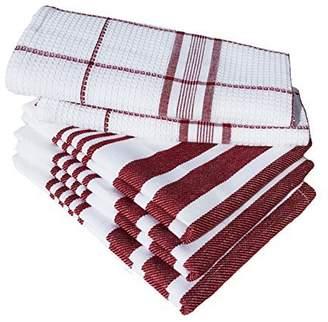 "Dish Towels, Boldways 5 piece set, 100% cotton, Three 16""x24"" & Two 12""x18"""