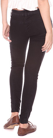 Forever 21 Stitch Detail Skinny Jeans