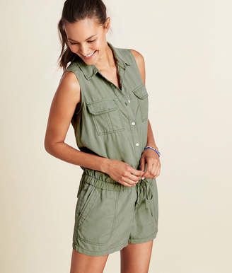 Vineyard Vines Sleeveless Utility Romper