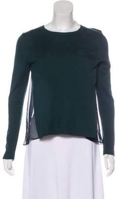 Sacai Luck Knit Long Sleeve Sweater