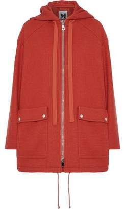 M Missoni Brushed-Wool Hooded Coat