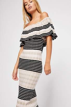 Off Duty Knit Maxi Dress