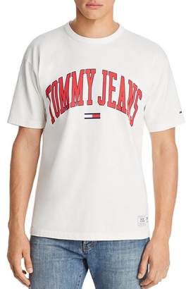Tommy Jeans Tommy Hilfiger Collegiate Logo Short Sleeve Tee