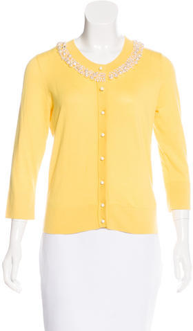 Kate Spade Kate Spade New York Embellished Knit Cardigan w/ Tags