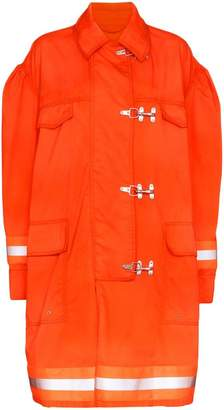 Calvin Klein Fireman reflective-trim cotton jacket