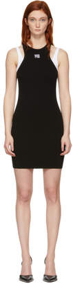 Alexander Wang Black Foundation Bodycon Dress