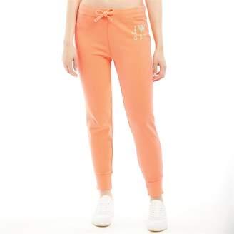 Jack Wills Womens Chatterton Garment Dye Sweat Pants Orange