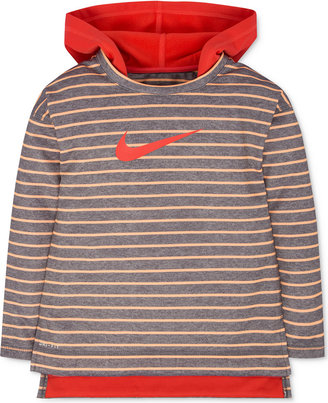 Nike Striped Therma Hoodie, Toddler & Little Girls (2T-6X) $44 thestylecure.com