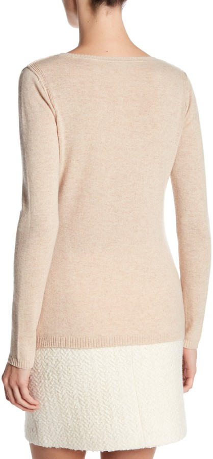In Cashmere Cashmere Open-Stitch Pullover Sweater 3