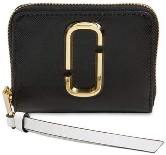 Marc Jacobs Mini Leather Zip Around Wallet