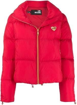 Love Moschino short padded jacket