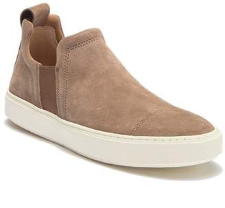 Vince Lucio Suede Slip-On Sneaker