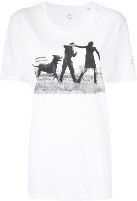 A.F.Vandevorst photographic print T-shirt