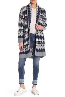 Susina Long Open Front Cardigan