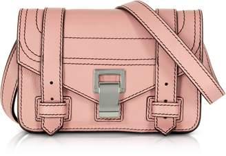 Proenza Schouler PS1+ Deep Blush Grainy Leather Mini Crossbody Bag