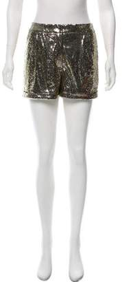 Patterson J. Kincaid PJK Sequin Mini Shorts w/ Tags