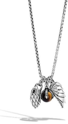 John Hardy Legends Eagle Amulet Pendant Necklace