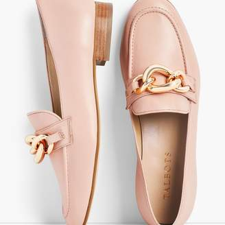 Talbots Cassidy Chainlink Loafers