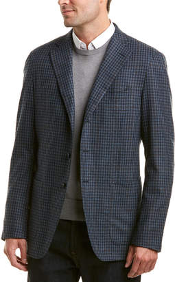 Caruso Tailored Wool & Cashmere-Blend Jacket