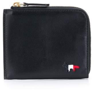 MAISON KITSUNÉ Tricolour coin purse