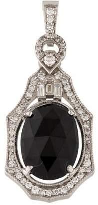 Penny Preville 18K Diamond & Spinel Pendant