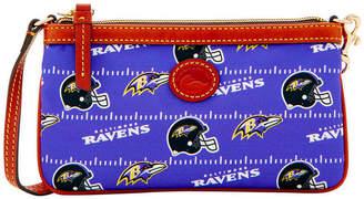 Dooney & Bourke Baltimore Ravens Nylon Wristlet
