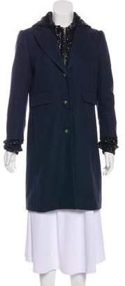 Gryphon Sequin Hoodie Short Jacket