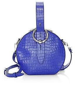 Rebecca Minkoff Women's Kate Crocodile Leather Circle Bag