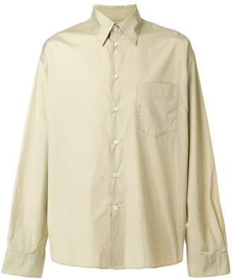Marni oversized crinkle shirt
