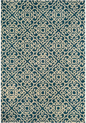 Couristan Rugs Covington Maxwell Indoor/Outdoor Hand-Hooked Rug
