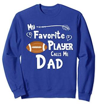 Football Shirt My Favorite Player Calls Me Mommy Sweatshirt