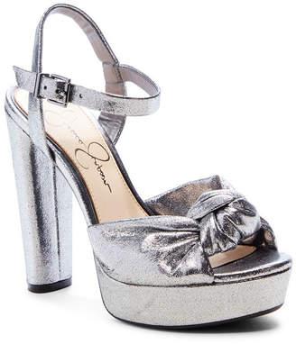 Jessica Simpson Ivrey Knot Platform Sandals Women Shoes