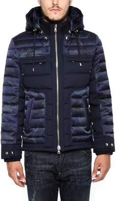 Balmain Camouflage Cotton Jacket