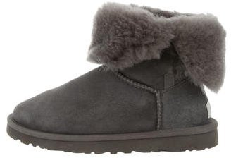 UGG Australia Shearling-Trimmed Ankle Boots $125 thestylecure.com