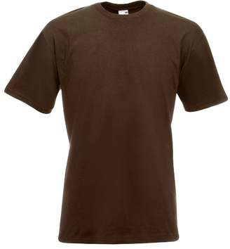 Fruit of the Loom Mens Valueweight Short Sleeve T-Shirt (S)