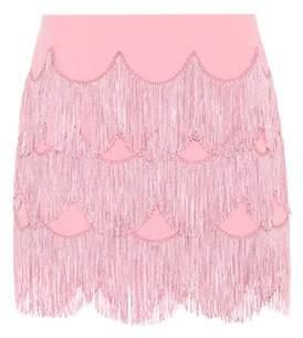 Marc Jacobs Fringe miniskirt