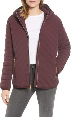 MICHAEL Michael Kors Missy Stretch Packable Down Coat