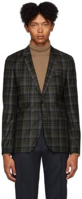 HUGO Black Check Anfred 193 Blazer